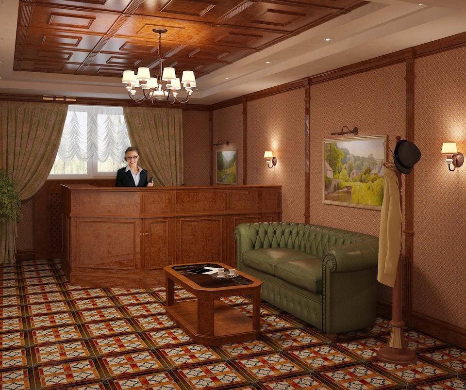 Офис Юридической компании Рис. 12