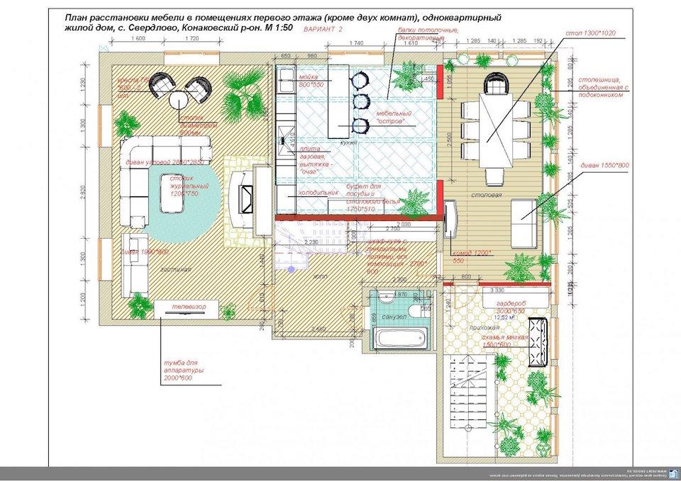 Дачный дом в Конаково Рис. 2