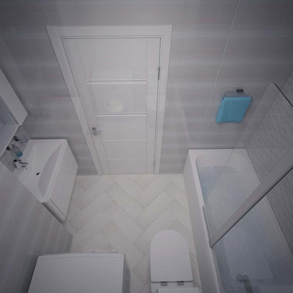 Однокомнатная квартира в Москве (работа 3) Рис. 2
