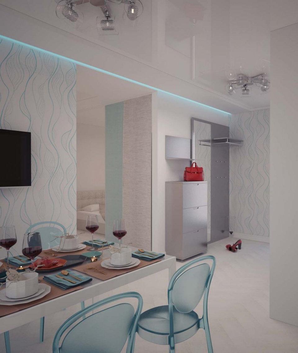 Однокомнатная квартира в Москве (работа 3) Рис. 3