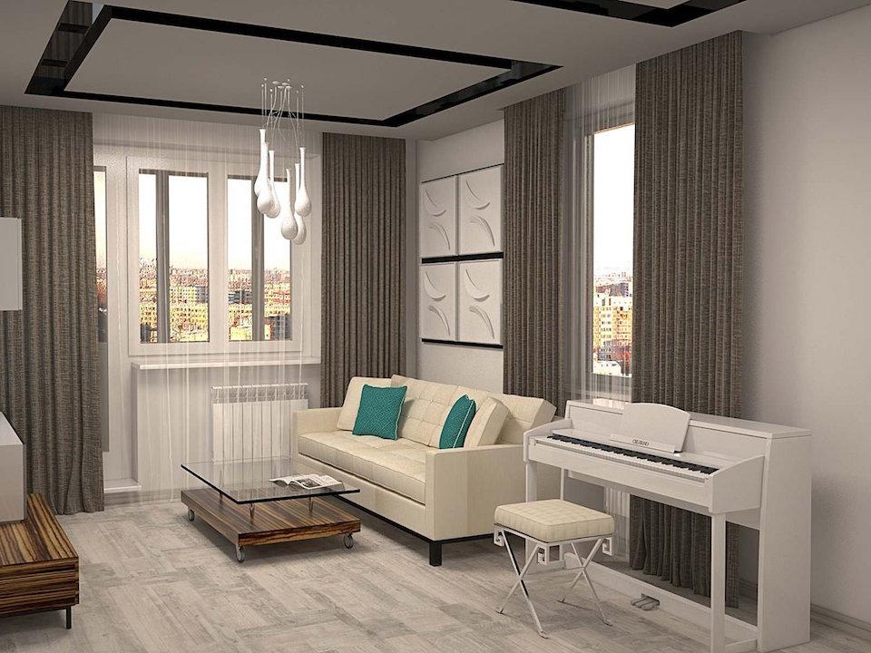 Однокомнатная квартира на ул. Левитана Рис. 3