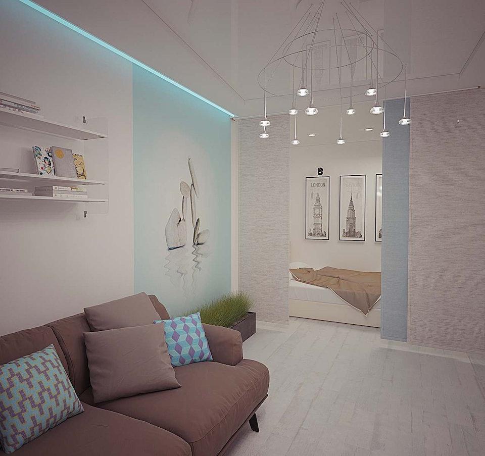 Однокомнатная квартира в Москве (работа 3) Рис. 5