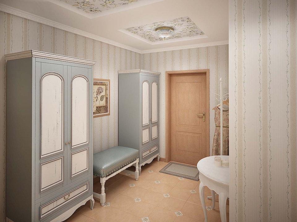 Двухкомнатная квартира в стиле прованс Рис. 10