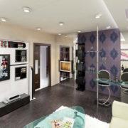 Квартира в двух уровнях на ул. Взлетная Рис. 26