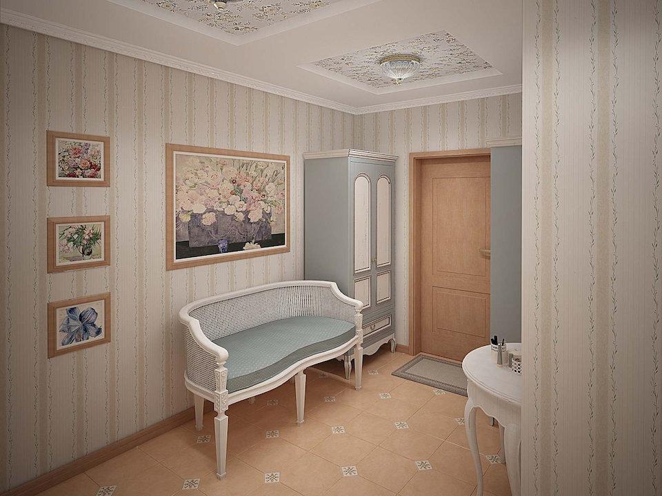 Двухкомнатная квартира в стиле прованс Рис. 9