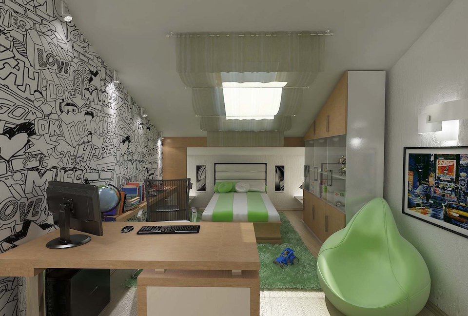 Квартира в двух уровнях на ул. Взлетная Рис. 8