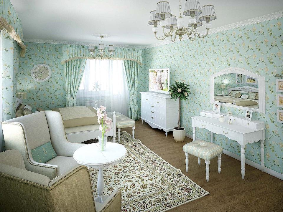 Двухкомнатная квартира в стиле прованс Рис. 6