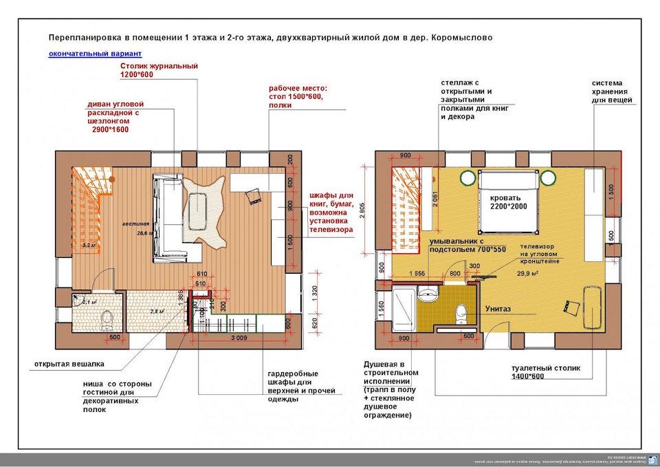 Пристройка к частному дому в дер. Коромыслово Рис. 1