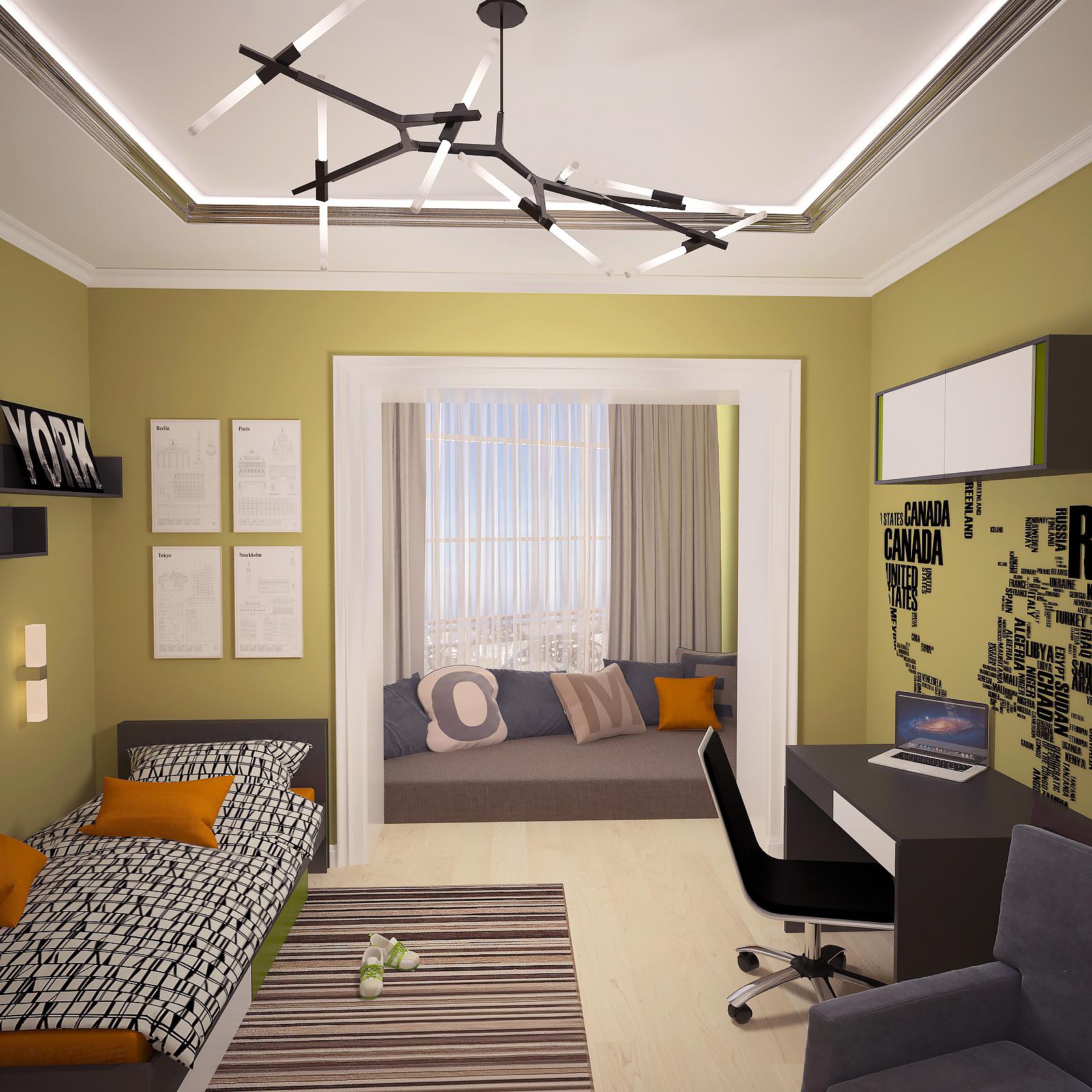 Четырехкомнатная квартира в Рябеево 3 Рис. 10