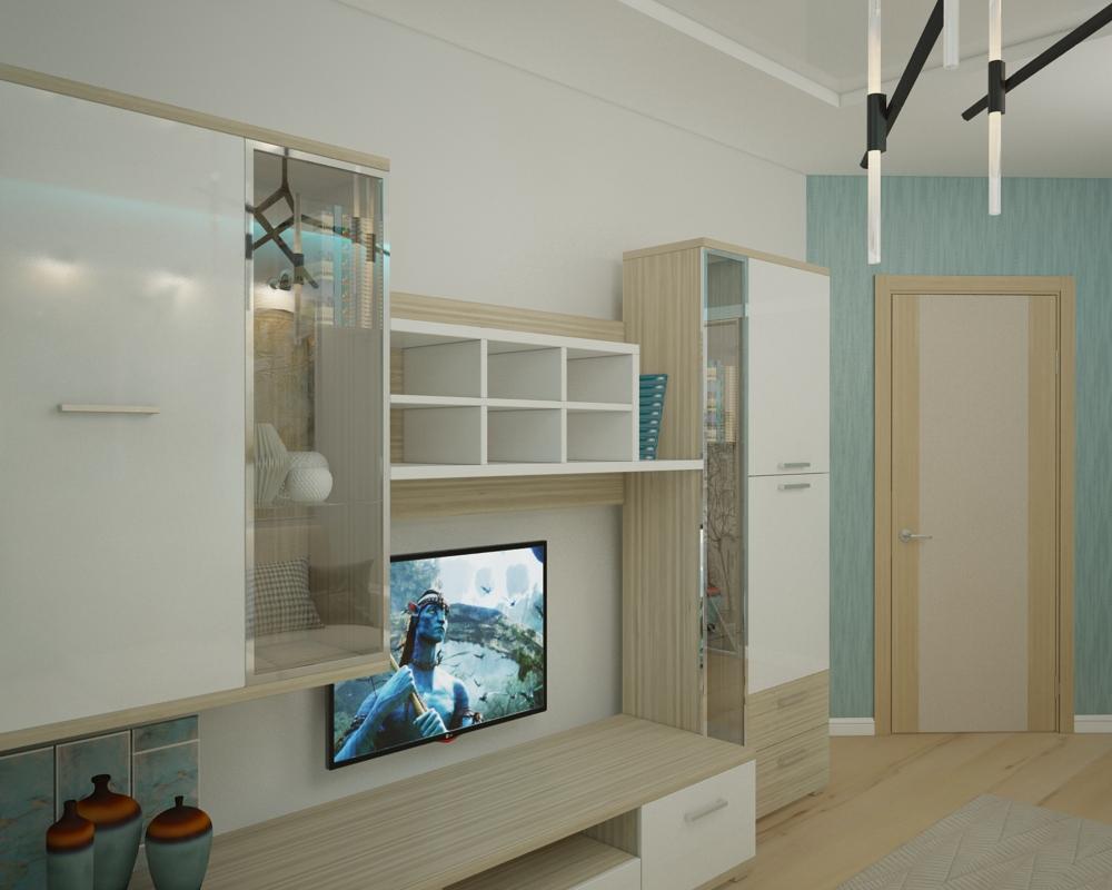 Однокомнатная квартира в Москве (работа 4) Рис. 2