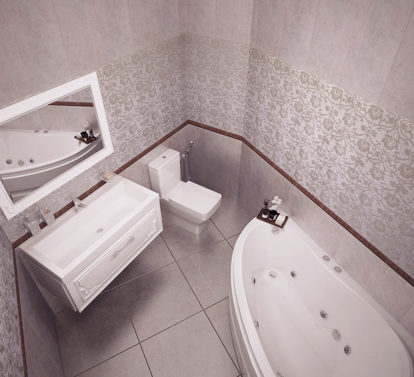 Четырехкомнатная квартира в Рябеево 3 Рис. 14