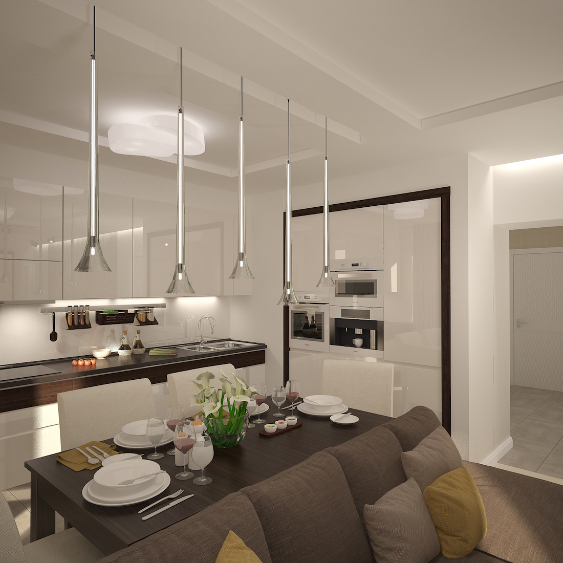 Двухкомнатная квартира на ул. Красина Рис. 6