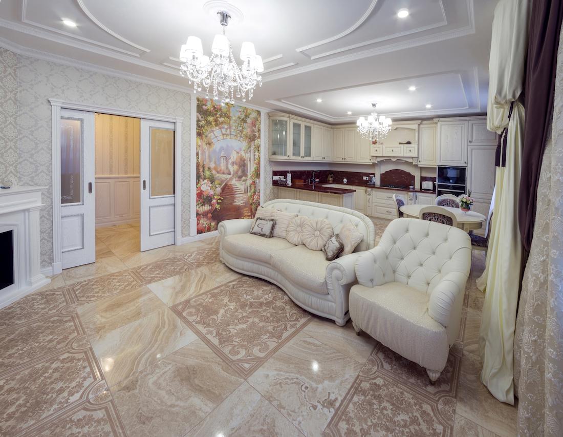 Четырехкомнатная квартира в Московской обл. Рис. 12