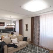 ЖК Европейский, однокомнатная квартира Рис. 12