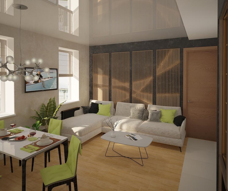 Однокомнатная квартира в Москве, Коммунарка Рис. 1