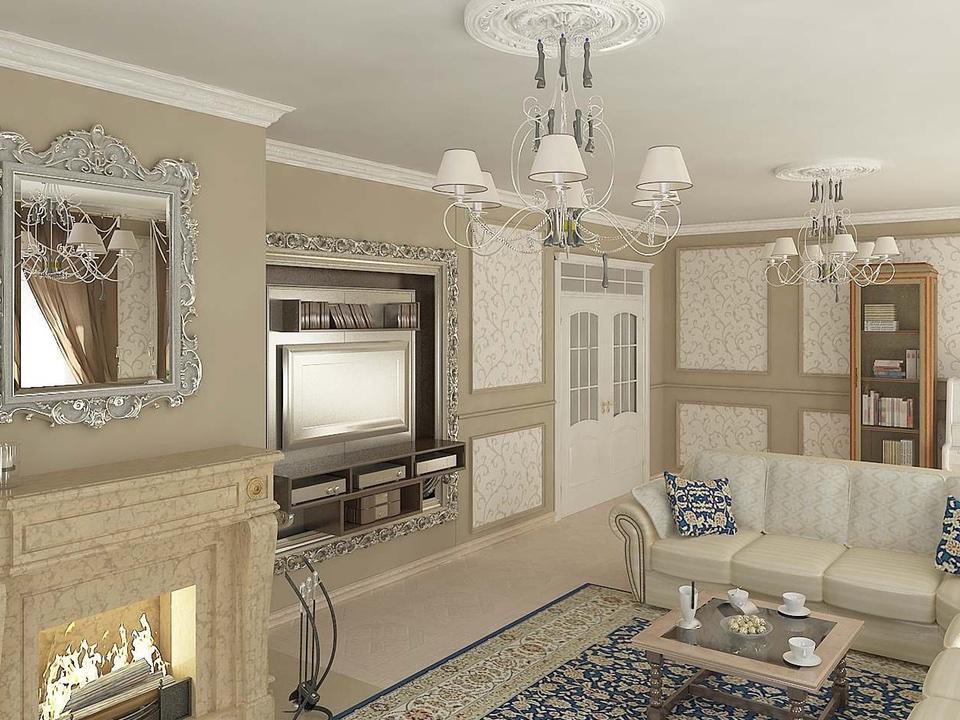 Выполненные дизайн интереры домов