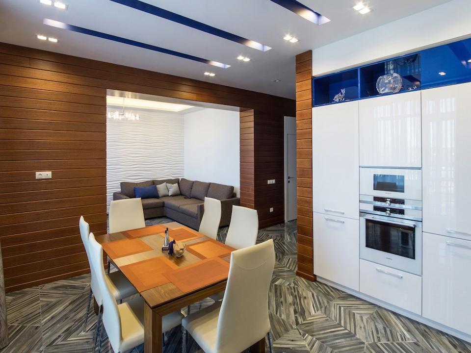 Выполненные дизайн интереры квартир